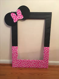 photo booth picture frames diy photo frame prop my diy photo booth prop frame for averys