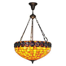 Pendant Bowl Chandelier Tiffany Style Inverted Bowl Chandelier Including Meyda Tiffany