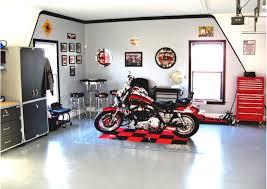 Garage Interior Color Schemes Garage Interior Paint Color Ideas With Cool Lighting Homerior Com
