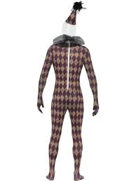 Skins Halloween Costume Twisted Harlequin Second Skin Costume 24620 Fancy Dress Ball