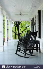 Old Rocking Chair On Porch Usa Kentucky Ky Front Porch Of An Old House On The Jim Beam