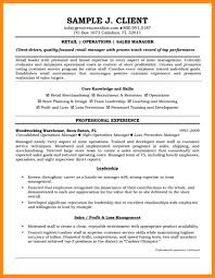 6 retail manager resume example manager resume
