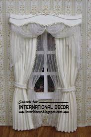 Drapery Valance Royal White Curtains With Luxury Valance Design Ideas Curtain