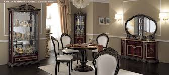 dinning rooms and chairs dining room camelgroup luxor mahogany