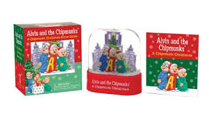 alvin and the chipmunks a chipmunk snow globe