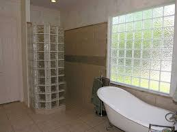 glass block bathroom ideas