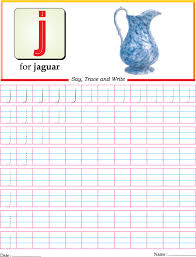 small letter j practice worksheet download free small letter j