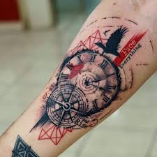Nautical Map Tattoo Tras Polka Compass Tatuagens Símbologia Pinterest Compass