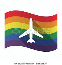 vectors of plane and blank flag sketch of the plane and blank