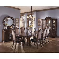 michael amini monte carlo ii dining set in cafe noir