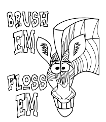 tooth brushing free coloring pages on art coloring pages