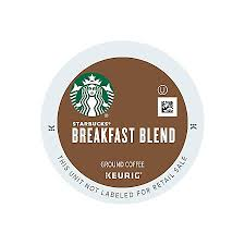 Blend K Cups Starbucks Breakfast Blend Coffee K Cups 2 8 Oz Box Of 24 By Office
