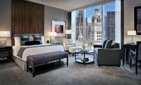 Two Bedroom Hotel Suites In Chicago Hotel Rooms In Chicago Trump Hotel Chicago Deluxe Guest Rooms