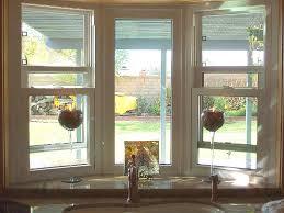 fascinating kitchen bay window over sink storage curtains for nook