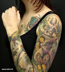 gambar tato kartun di lengan 81 gambar foto tato gambar kartun tatto