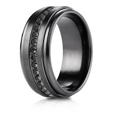 5th avenue wedding band 5th avenue jewelers benchmark black titanium 9mm comfort fit