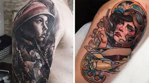 30 war inspired tattoos from around the internet so bad so good
