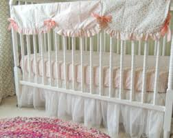 Baby Crib Bed Skirt Tulle Crib Skirt Etsy