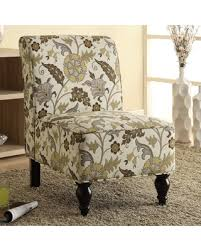 Traditional Accent Chair 11 Monarch Floral Traditional Accent Chair Brown
