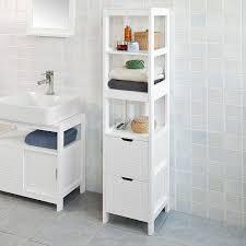 armadietto da bagno sobuy皰 mobiletto da bagno di alta mobile a colonna da bagno