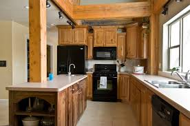 photo 9283 rustic cherry kitchen cabinets