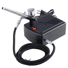 dual action airbrushes kit set with compressor for gourds nails