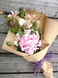 paper wrapped flowers flowers friday flower bouquet b montana friday flower