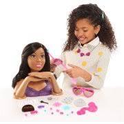 barbie crimp color styling head african american walmart