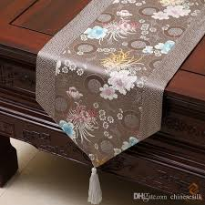 Cover Coffee Table Happy Patchwork Printed Table Runner Style Luxury Cover