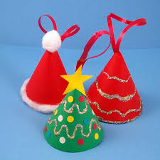 how to make a miniature tree ornament crafts