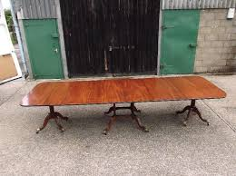 Antique Mahogany Dining Room Set by Antique Regency Dining Tables In Our Antique Furniture Warehouse