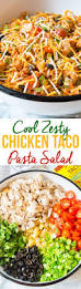 Best Pasta Salad Recipe by Cool Chicken Taco Pasta Salad A Spicy Perspective