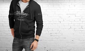 man hoodie mockup by sreda graphicriver