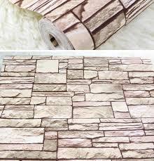 wandgestaltung mit naturstein backstein tapete wandgestaltung mit realistischem effekt