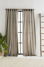 Embroidered Linen Curtains Curtains U0026 Drapes Anthropologie