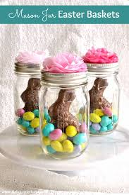 cheap easter baskets jar easter baskets easy hello home