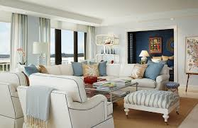 Colorful Living Room Rugs Blue And White Interiors Living Rooms Kitchens Bedrooms And More