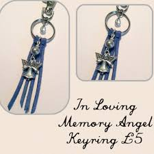 in loving memory charms in loving memory angel bag charm keyring as a button