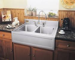granite countertop kitchen with farm sink commercial grade
