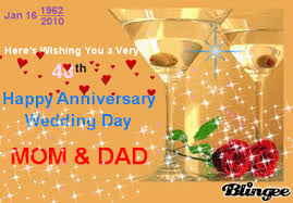 wedding wishes god bless here s wishing you a 48th happy anniversary wedding day