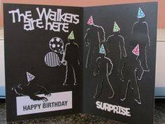 walking dead birthday card don u0027t open dead inside twd gift