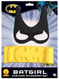 batgirl halloween costume accessories amazon com batgirl child u0027s costume accessory set toys u0026 games