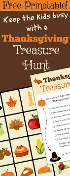 thanksgiving treasure hunt free printable thanksgiving