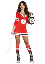 Womens Cheerleader Halloween Costume Hockey Player Halloween Costume Splash Halloween