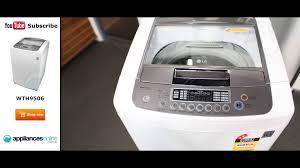 lg wth9506 9 5kg top load washing machine appliances online