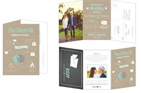 tri fold wedding invitations destination wedding invitations with room for all the details