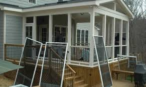 House Plans With Screened Porches Screened In Deck Plans Ideas House Plans 1875