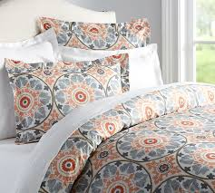 What Size Is A Twin Duvet Cover Veronica Organic Duvet Cover U0026 Sham Pottery Barn