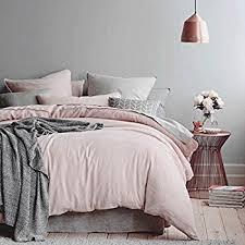 Pale Pink Duvet Cover Dreamscene Duvet Cover With Pillowcase Geometric Rewind Bedding
