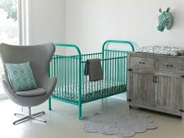 incy interiors colorful metal cribs bring vintage charm to the
